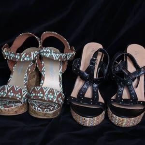 Christian Siriano & City Classified Wedge Heels Si